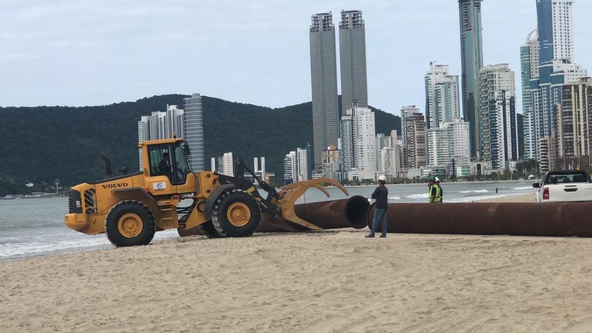 A Obra da Nova Praia Central poderá ser acompanhada pela internet