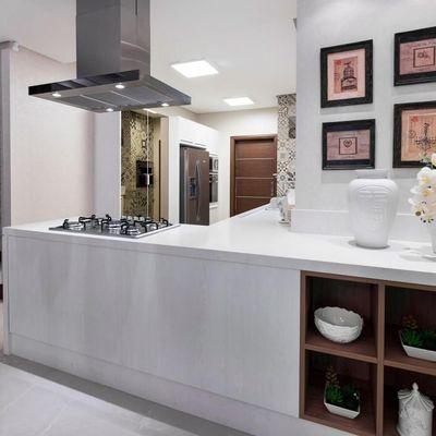 Apartamento na planta com 4 suítes decorado na Avenida Brasil entrega em 2022