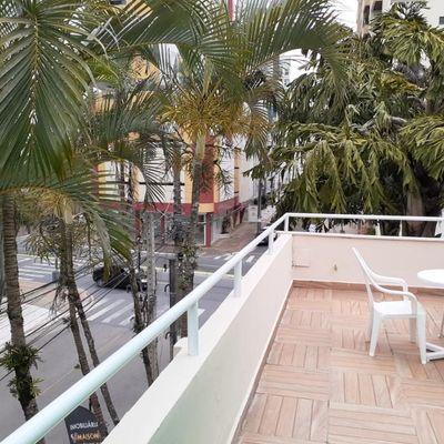Apto com terraço locação TEMPORADA em Balneário Camboriú