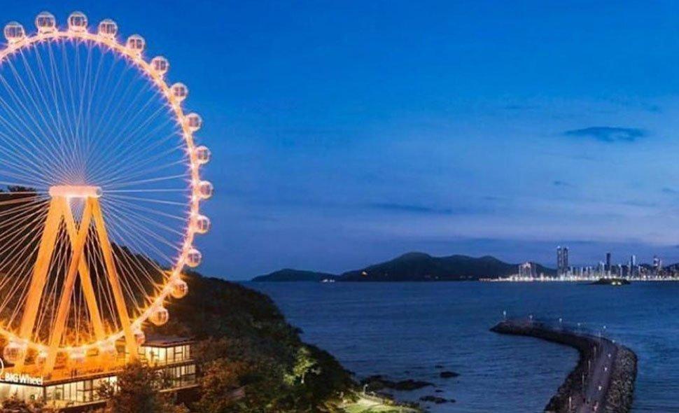 Nova atração turística em Balneário: Segunda maior Roda Gigante da América do Sul
